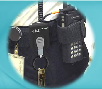 EKT electronic key tether